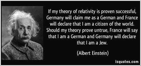 albert einstein biography francais if my theory of relativity is proven successful germany