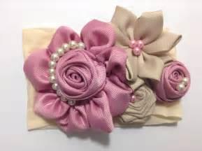 de como hacer folores de liston tiara con flores de list 243 n video 343 youtube