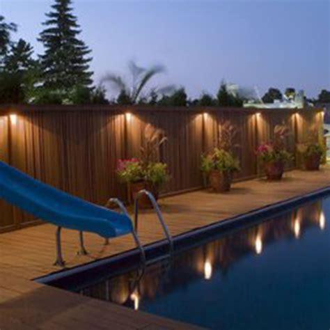LED Solar Power Outdoor Garden Powered Light Gutter Fence