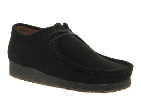 Suede Black clarks originals wallabee shoes black suede casual