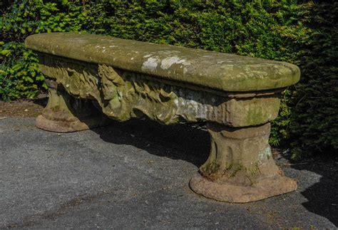 sandstone garden bench a pair of 18th century dutch r 233 gence sandstone garden
