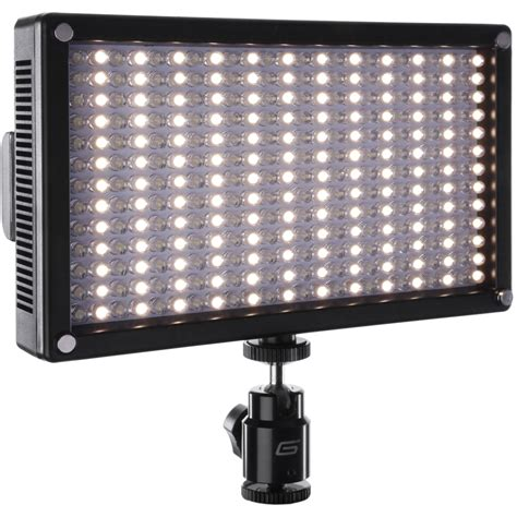 best on camera led light genaray led 7100t 312 led variable color on camera led