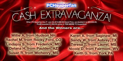 Pch Superfan Page - pch winner shows why it s super to be a pchsuperfan pch blog