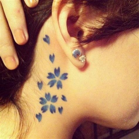cherry tattoo behind ear meaning 68 best images about henna on pinterest henna star