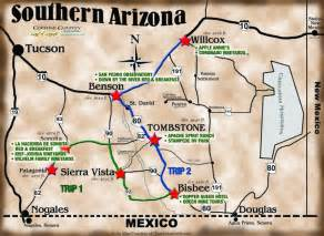 Southern Arizona Map southern arizona map