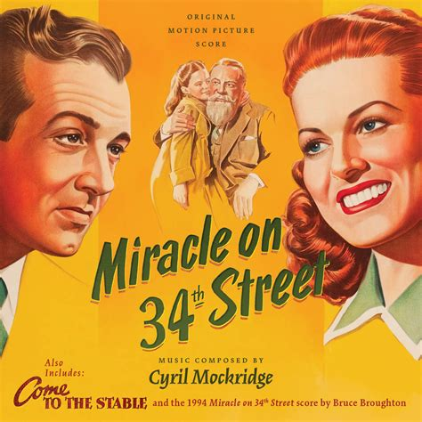 A Miracle On 34th 1947 Score Miracle On 34th 1994 1947 Come To The Stable