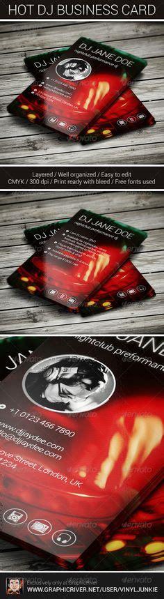 dj business card templates psd 1000 images about dj business cards on dj