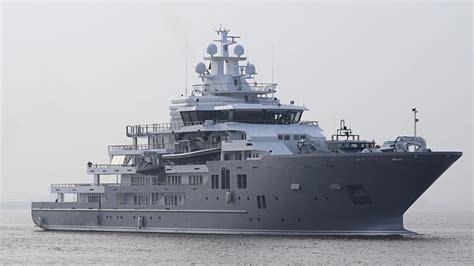 jacht ulysses 107m kleven explorer yacht ulysses delivered to owner