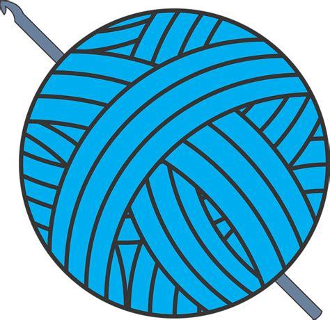 clipart yarn free vector graphic crochet hook yarn free image on