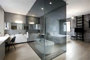 freestanding bathtub in the bedroom no clear separation