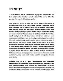 Individuality Essay Conclusion by American National Identity Essays Free Essay For You