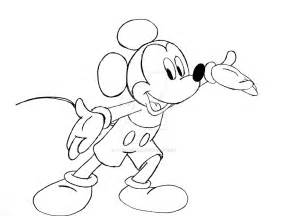 Draw On Pictures mickey mouse drawing drawing images