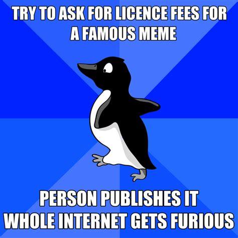 Socially Awkward Meme - socially awkward penguin know your meme