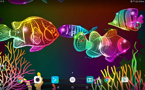 neon fish  wallpaper android apps  google play