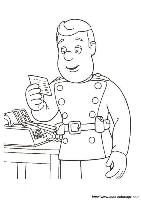 Coloriage De Sam Le Pompier Dessin Vite Une Urgence 224 Fireman Sam Colouring Pages To Print