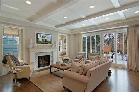 stationary panels and valance transitional family room other metro by maria j window family room furniture placement family room transitional with glass french doors knife edge