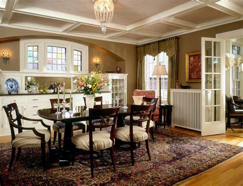 crocus hill tudor traditional dining room