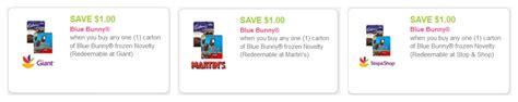 Blue Bunny Coupons Printable 2014
