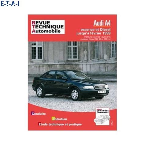 Audi A4 Repair Manual Automobile Library Mecatechnic