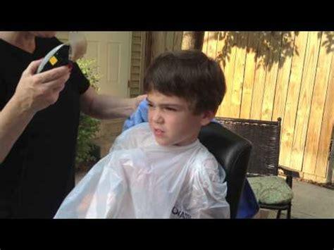 punishment buzz cut vedio autism ian s first buzz cut doovi