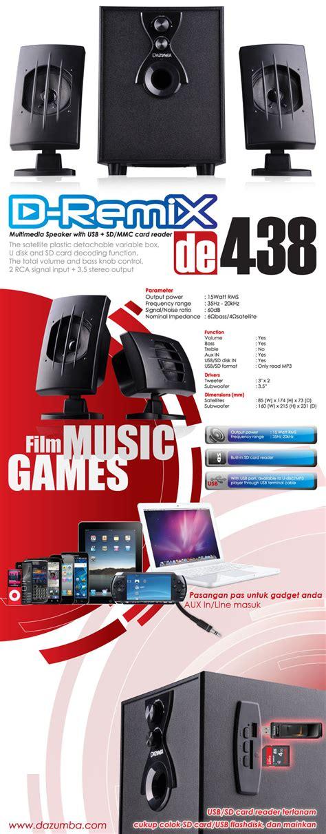 Casing Pc Cpu Dazumba De 160 De 160 Incude Psu 380w dazumba speaker portable speaker aktif mp3 casing pc