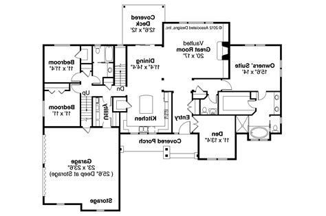 plan of the house ranch house plans manor heart 10 590 associated designs