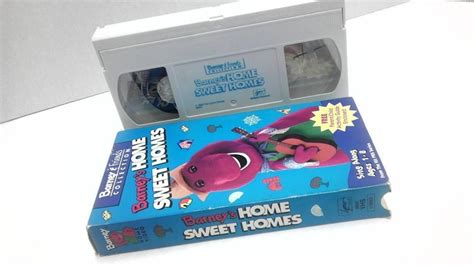 barney s home sweet homes on vhs ebay