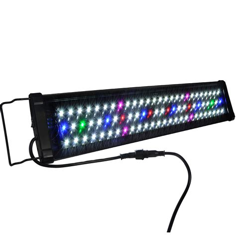 Led Aquarium Lighting 24 quot 36 quot 48 quot multi color led aquarium light 0 5w spec