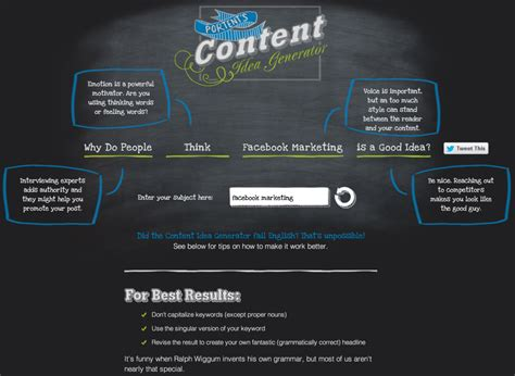 ideas generator 10 content idea tools you re not using yet iacquire blog