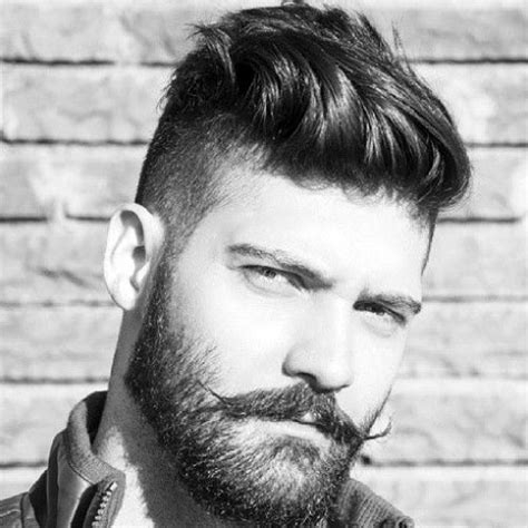 shaved sides hairstyles  men mens hairstyles