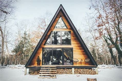 modern wooden cabin with fascinating a frame house and