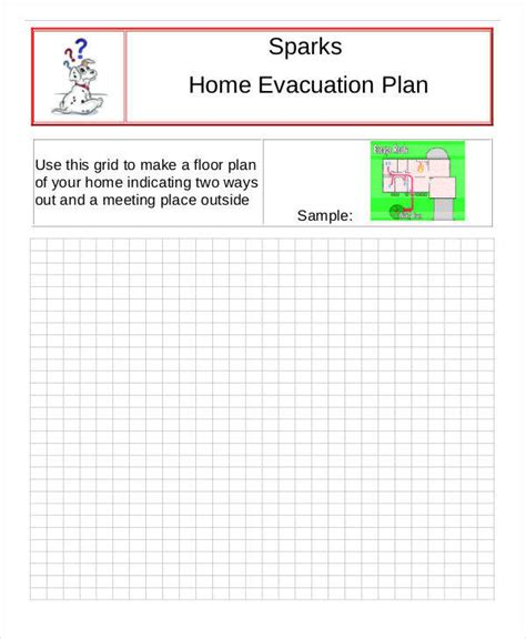 home evacuation plan template 6 evacuation plan templates free sle exle