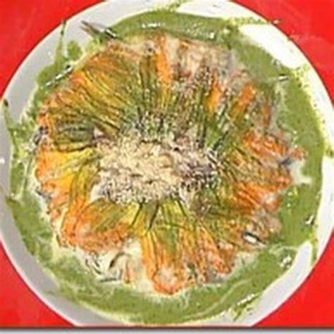 tortino di fiori di zucca tortino di fiori di zucca mozzarella e alici