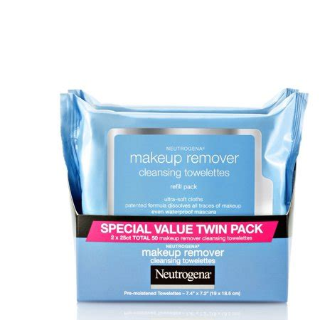 Neutrogena Makeup Remover neutrogena makeup remover cleansing wipes 25 sheets