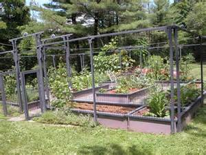 Small Backyard Vegetable Garden Ideas Modern Backyard Vegetable Garden House Design With High Wire Garden Fence With Gate And Small