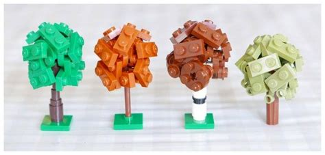 tutorial lego tree 17 best images about lego mocs micro on pinterest villas