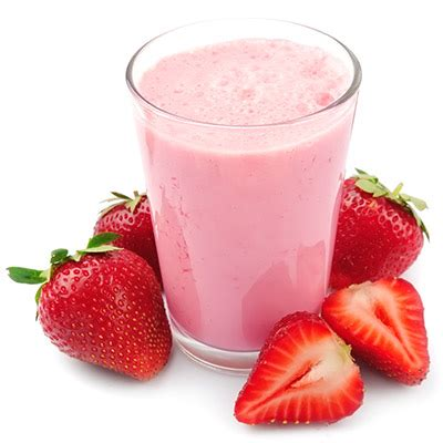 strawberry shake you are a strawberry milkshake