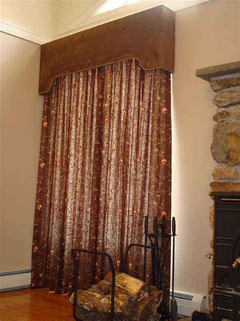 custom design window treatments cornices traditional window treatments miami by