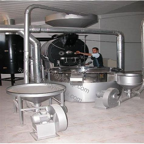 120kg large coffee roaster /commercial coffee roasting machine/ coffee roasting equipment By