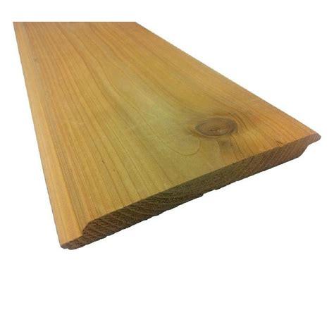 pattern stock primed shiplap board 7 16 in x 48 in x 96 in cedar no groove textured