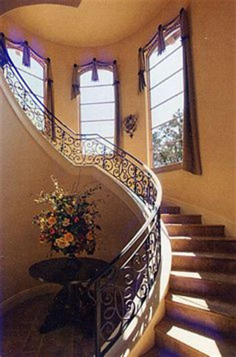 staircase window curtains 1000 images about house ideas stairs foyer on pinterest