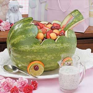 where the wild things are fruit boat watermelon baby carriage recipe taste of home