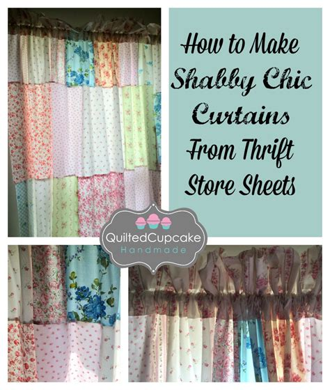 how to make curtains from sheets how to make shabby chic curtains easy diy tutorial