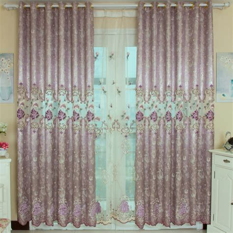 Purple Curtains For Bedroom Bedroom Floral Light Purple Curtains