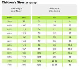 Galerry kid size chart nike