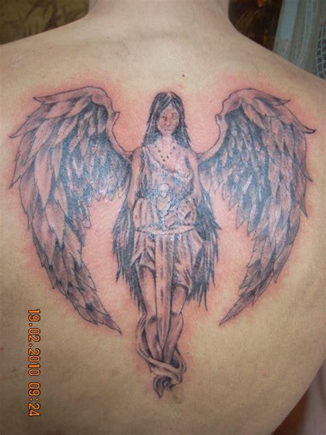 tattoo angel with sword sword angel tattoo design tattooshunt com