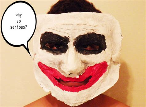 How Do You Make A Paper Mache Mask - diy costume masks