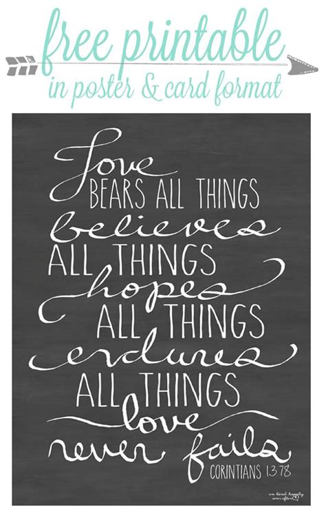 Free Love Printables We Lived Happily Ever Afterwe Lived | free love printables we lived happily ever after