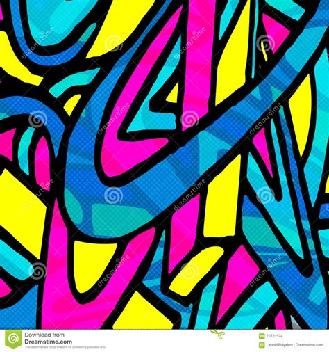 abstract graffiti pattern beautiful abstract graffiti gentle pattern vector
