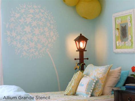 girls bedroom stencils stenciled rooms in bloom stencil stories stencil stories